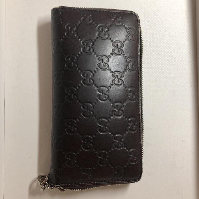 Gucci(グッチ)のGUCCI 財布 袋付き メンズのファッション小物(長財布)の商品写真