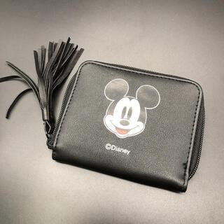 エックスガール(X-girl)の即決 X-girl Disney ディズニー ミッキー 二つ折り財布 ウォレット(財布)