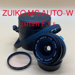 ペンタックス(PENTAX)のOLYMPUS オリンパス ZUIKO MC AUTO-W 28mm F2.8(レンズ(単焦点))