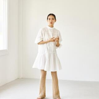 TODAYFUL - 【todayful】【新品】Standcollar Gather Dress