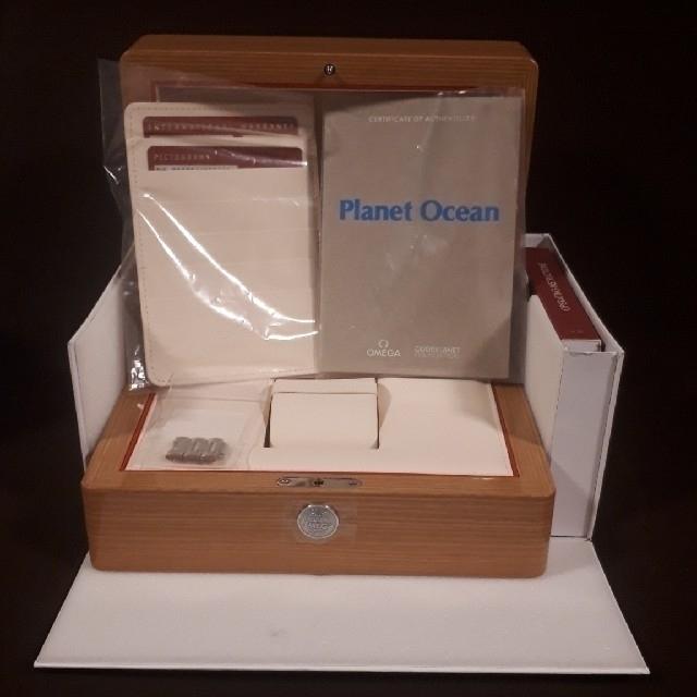 OMEGA(オメガ)の国内正規品 オメガ プラネットオーシャン グッドプラネットGMT メンズの時計(腕時計(アナログ))の商品写真