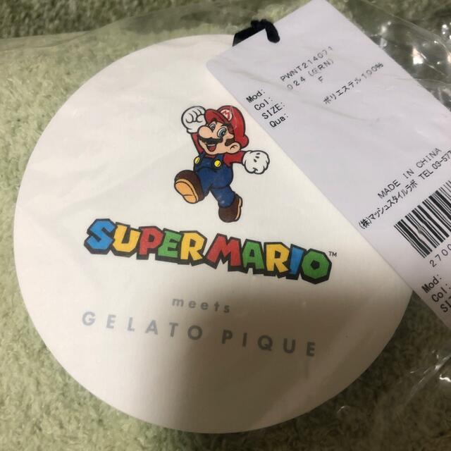 gelato pique(ジェラートピケ)のジェラートピケ スーパーマリオ ヨッシー パーカ&ショートパンツ レディースのルームウェア/パジャマ(ルームウェア)の商品写真