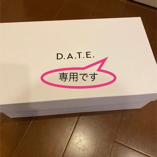 DEUXIEME CLASSE - 【D.A.T.E.】別注ダットスニーカー FUG新品 ウィムガゼット