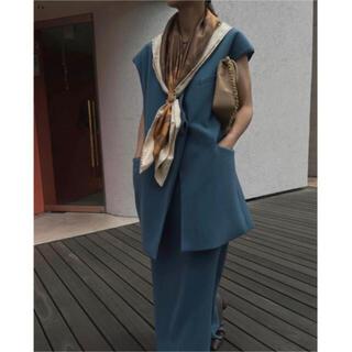 Ameri VINTAGE - ameri OTONA WRAP VEST SET UP DRESS