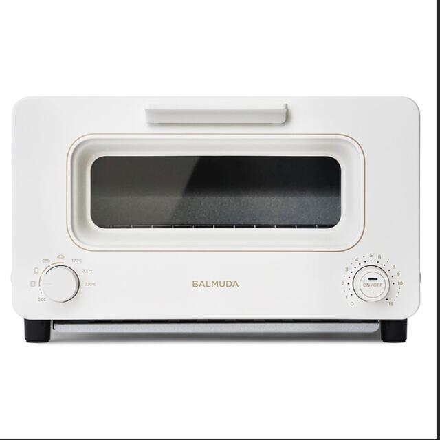 BALMUDA(バルミューダ)のBALMUDA The Toaster K05A-WH スマホ/家電/カメラの調理家電(調理機器)の商品写真