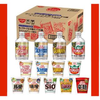 ニッシンショクヒン(日清食品)のカップヌードル 50周年 カップヌードルソーダ(インスタント食品)