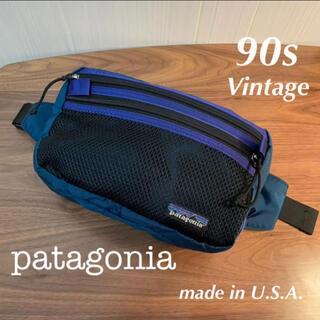 パタゴニア(patagonia)のUSA製⭐︎パタゴニア ウエストバッグ made in USA(ウエストポーチ)