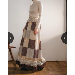 Lochie - marte vintage マルテ パッチワークロングスカート