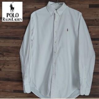 POLO RALPH LAUREN - ポロラルフローレン  ポニー3色ロゴ刺繍 BDシャツ オックスフォードシャツ