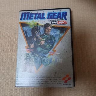 コナミ(KONAMI)の【MSX】METAL GEAR(PCゲームソフト)