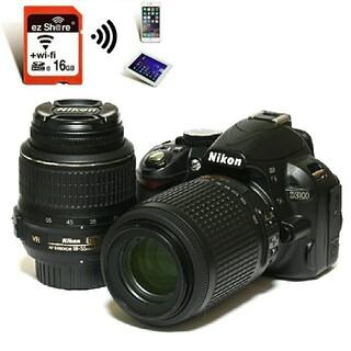 Nikon - 【Nikon】Wi-Fiで転送★カメラがガイドしてくれる♪D3100レンズキット
