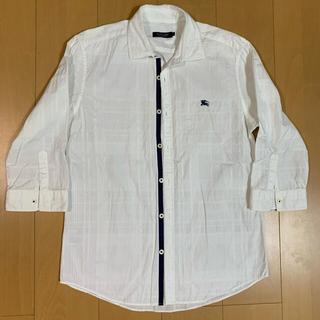 バーバリーブラックレーベル(BURBERRY BLACK LABEL)のBURBERRY BLACK LABEL シャツ白 七分丈(シャツ)