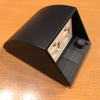 パナソニック(Panasonic)の屋外用防水コンセント 黒(その他)
