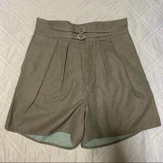 コモリ(COMOLI)のNEAT 60's Swiss Denim Gurkha Shorts M(ショートパンツ)