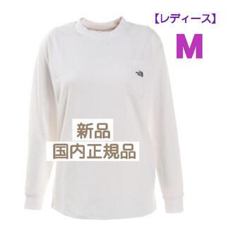 THE NORTH FACE - ノースフェイス  ロンT 長袖Tシャツ 【レディース】NT62003X(W) M