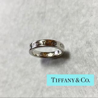 Tiffany & Co. - 【Tiffany&Co.】ティファニー♡1837 ナロー リング 指輪