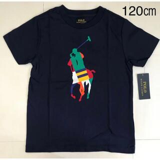ラルフローレン(Ralph Lauren)の【今季新作】 ラルフローレン ビッグポニーロゴ Tシャツ ネイビー(Tシャツ/カットソー)