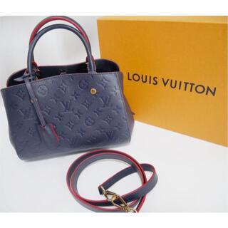LOUIS VUITTON - 正規品 LOUIS VUITTON M42747 モンテーニュBB バック