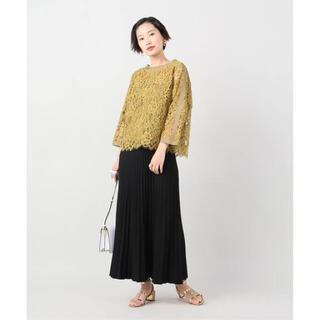 イエナ(IENA)のVERMEIL par iena ニットプリーツスカート◆ ¥28,600(ロングスカート)