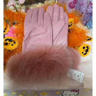 M'S GRACY - エムズグレイシー高級手袋ピンク💕💕💕