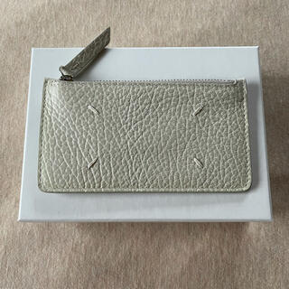 Maison Martin Margiela - 21SS新品 メゾン マルジェラ グレインレザー 小銭入れ カードケース 財布