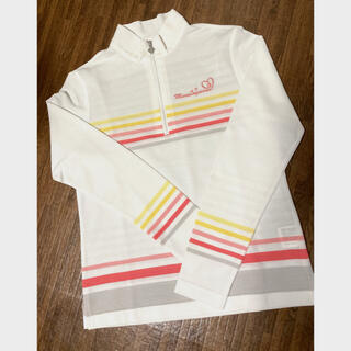 Munsingwear - 新品 マンシングウェア 長袖レディースジップシャツS