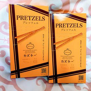 【大人気!】KALDI   井原水産 カズチープレッツェル 45g  2箱セット