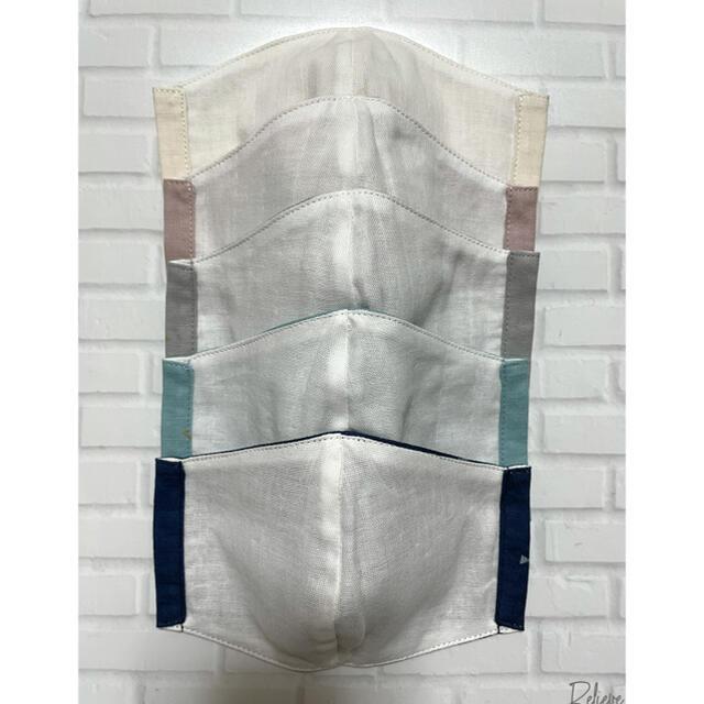 ☆ハンドメイド インナーマスク 子供用 ラメ リボン柄 5枚セット☆ ハンドメイドのハンドメイド その他(その他)の商品写真