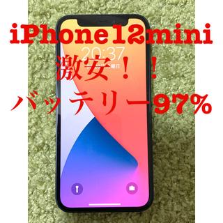 iPhone - iPhone12mini 激安! バッテリー97% 傷あり