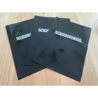 NEIGHBORHOOD - Neighborhood クリアファイル 3枚セット