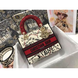 クリスチャンディオール(Christian Dior)の極美品!DIOR AmourシリーズLady Dior(トートバッグ)