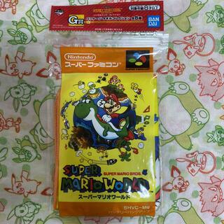 ニンテンドウ(任天堂)のスーパーマリオ 一番くじ タオルコレクション(スーパーマリオワールド)(キャラクターグッズ)