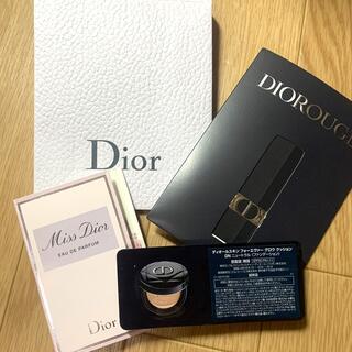 ディオール(Dior)のDIOR サンプル3点(サンプル/トライアルキット)