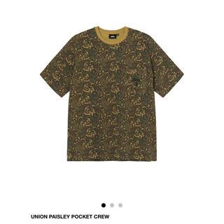 STUSSY - 週末限定価格 Stussy Union Paisley ペイズリー Tシャツ S