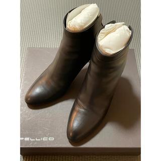 ペリーコ(PELLICO)のペリーコ バックジップショートブーツ 36 黒(ブーツ)