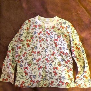 サンリオ(サンリオ)のハローキティ 長袖シャツ(Tシャツ/カットソー)