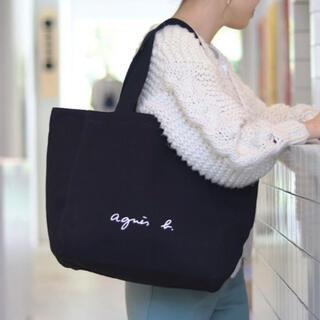 agnes b. - アニエスベー トートバッグ ブラック【WEB限定】