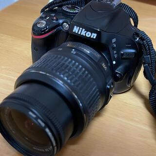 Nikon - すぐ使えるNikon D5100 18-55 VRレンズキット SDカード付き!