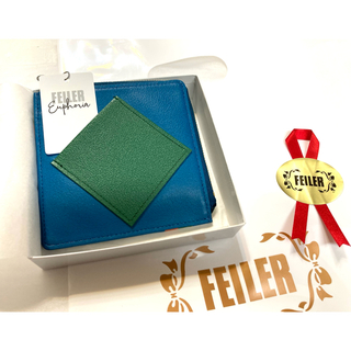 FEILER - フェイラー ユーフォリア 財布 小銭入れ レザー