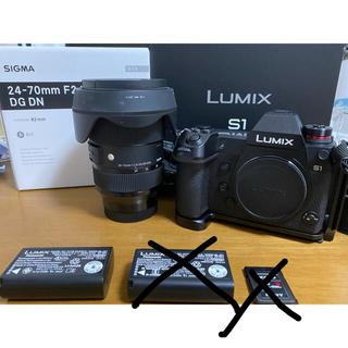 シグマ(SIGMA)のLUMIX s1 & SIGMA 24-70mm F2.8 DGDN Art美品(ミラーレス一眼)