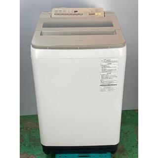 パナソニック 8.0KG NR-FA80H3 中古洗濯機 2109161700