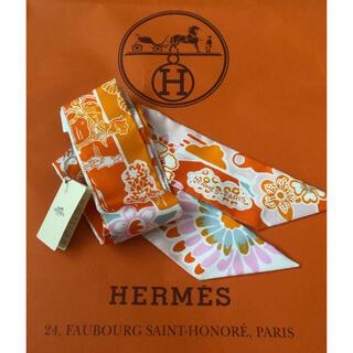 エルメス(Hermes)の新品 エルメス ツイリー   紅型 ビンガタ バーキン ケリー ボリード に(バンダナ/スカーフ)