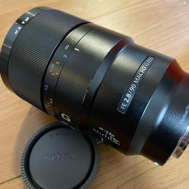 SONY(ソニー)のSONY FE 90mm F2.8 マクロ G OSS Eマウント スマホ/家電/カメラのカメラ(レンズ(単焦点))の商品写真