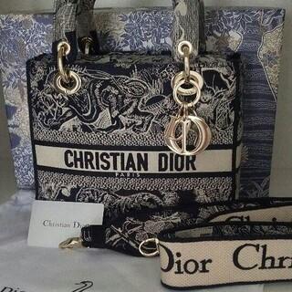 ディオール(Dior)のDior ディオール LADY D-LITE ミディアムバッグ(ハンドバッグ)