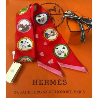 エルメス(Hermes)の新品 エルメス ツイリー   ティータイム バーキン ケリー ボリード に(バンダナ/スカーフ)