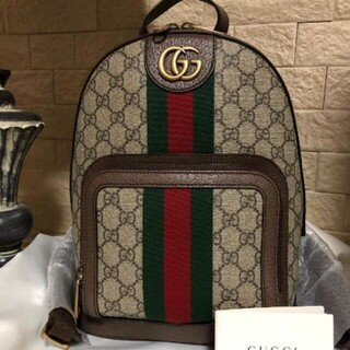 Gucci - 美品!グッチ スモールバックパック オフィディア GGスプリーム リュック