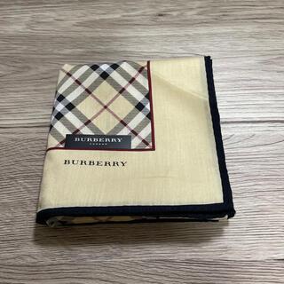 BURBERRY - バーバリーハンカチベージュ