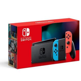 Nintendo Switch - 新型ニンテンドースイッチ ネオンブルー、レッド