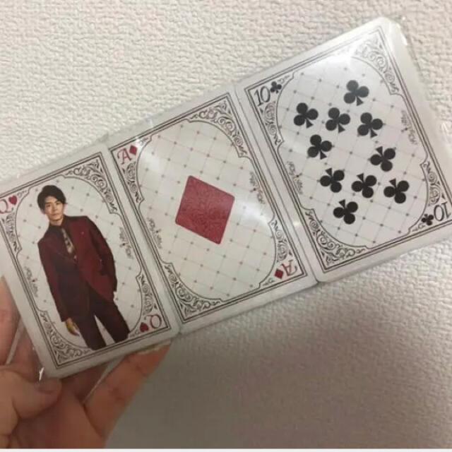 Johnny's(ジャニーズ)のKing & Princeトランプ エンタメ/ホビーのタレントグッズ(アイドルグッズ)の商品写真