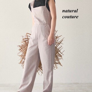 natural couture - 新品 natural couture アシメストラップサロペット